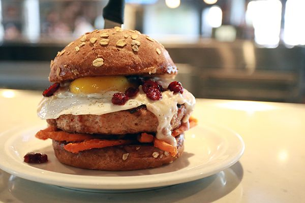 The Turducken Burger Is a Thanksgiving Dinner in a Bun