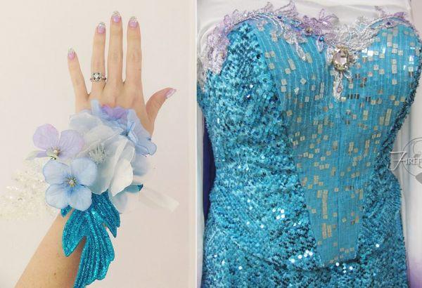 Frozen-Inspired Prom Dress - Neatorama