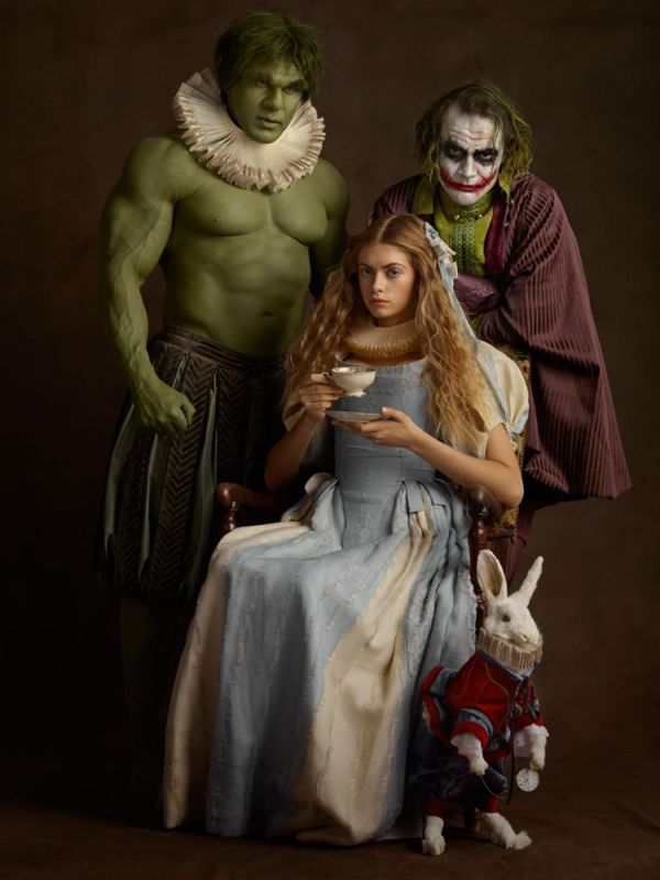 French Photographer Sacha Goldberger Previously Is Back With A Follow Up To His 2014 Super Flemish Photo Series Latest Family Portrait Was Created