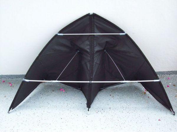 How to Turn an Umbrella into Batman's Hang Glider