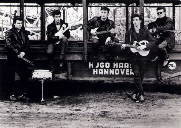 The First Time John, Paul, George, and Ringo Played Together