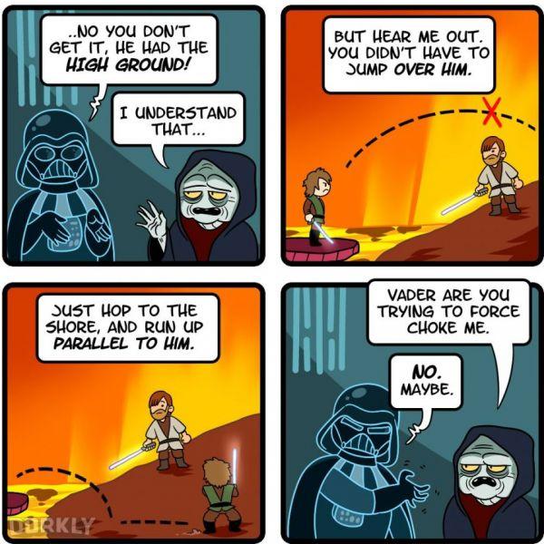 Image result for funny star wars comic