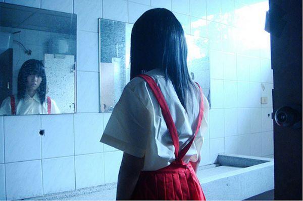 Girl Cums School Bathroom