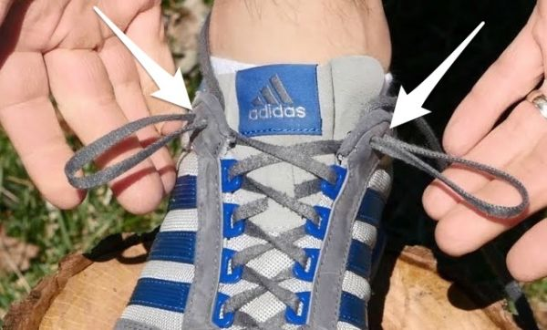 So That's What That Extra Shoelace Hole is For