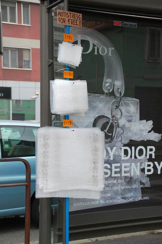 Playful Street Art By Fra.Biancoshock