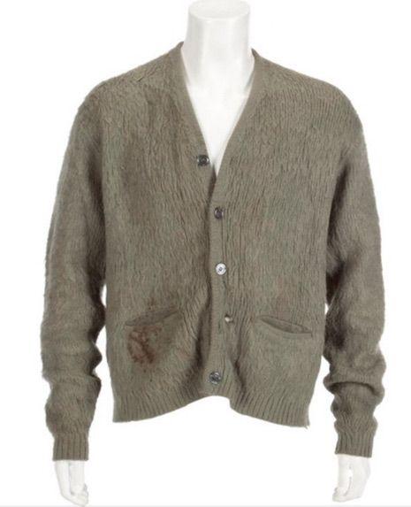 Kurt cobains sweater sells for 140800 at auction neatorama gumiabroncs Choice Image