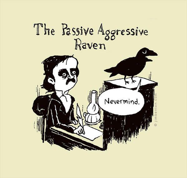 Image result for raven poe