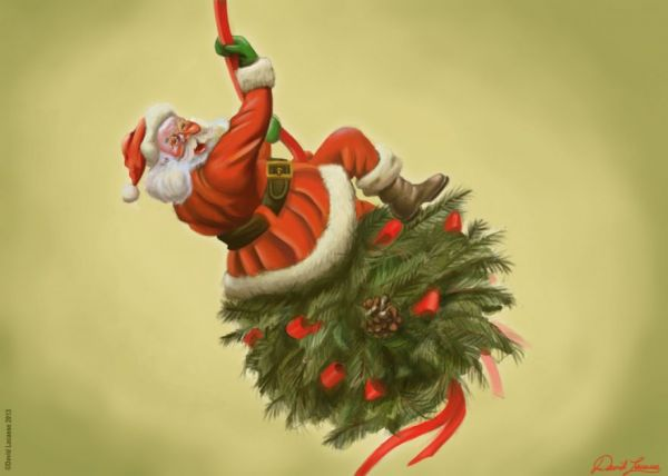 Miley Cyrus Wrecking Ball Christmas Ornament.Santa Came In Like A Wrecking Ball Neatorama