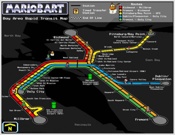 Super mario rapid transit maps neatorama series of eight such posters and you can get one for yourself above you see a map of atlantas marta subway system in the style of super mario bros gumiabroncs Image collections