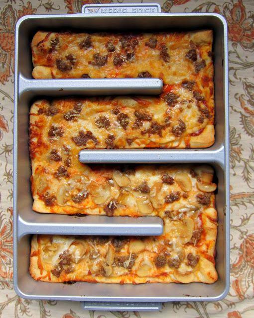 Brownie Pan Pizza