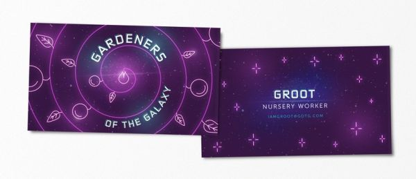 Humorous business cards for famous pop culture characters neatorama that being said there is one instance when famous pop culture characters like groot or darth vader would need a business card to give to people when said colourmoves