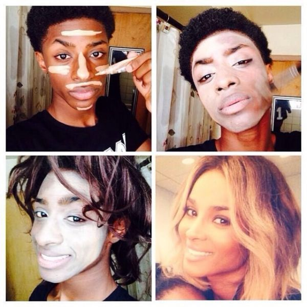 Guys create their own makeup transformations with a comedic twist guys create their own makeup transformations with a comedic twist publicscrutiny Choice Image