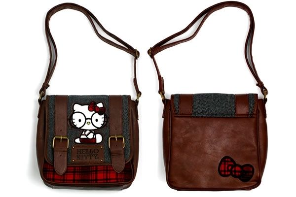 97f8fc180464 Hello Kitty Nerd With Glasses Crossbody Bag - Neatorama