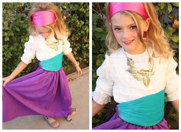25 easy diy halloween costumes you can make last minute neatorama esmeralda for the youngsters who want to be a gypsy this hunchback of notre dame costume is super easy as this mama makes stuff shows solutioingenieria Image collections