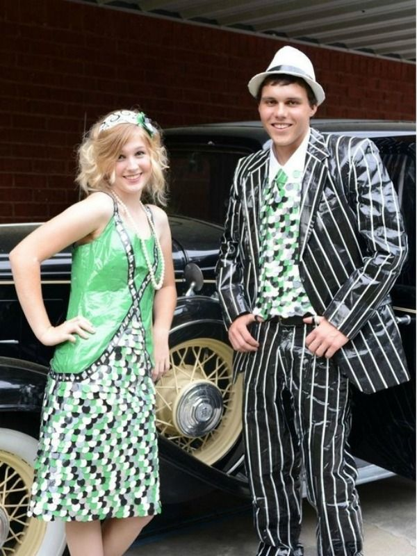 Prom Dresses And Tuxedos Made Out Of Duct Tape - 2014 Finalists ...