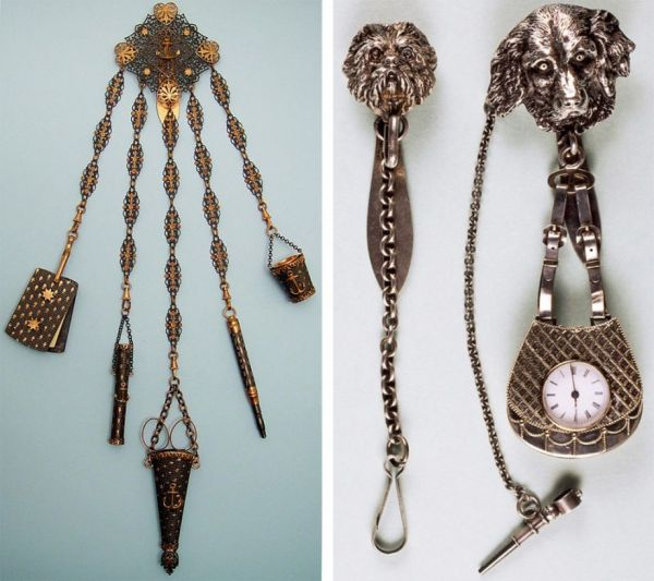 The Chatelaine--An Antique Multitool for Women