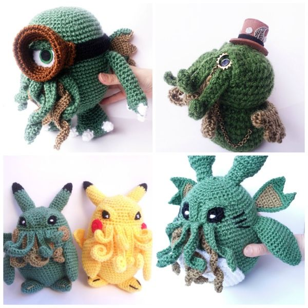 Crochet Cthulhu Is Taking Over The World Or At Least My Heart