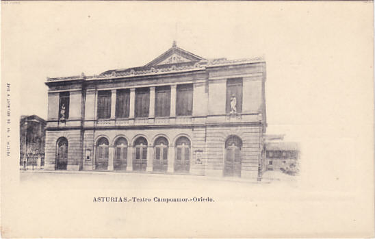 Teatro Cmpoamor, Oviedo - Asturias (Spain)