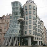 Ginger and Fred is a building in Prague