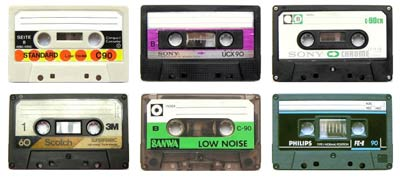 Tapes collection
