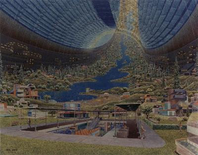 A toroidal colony design
