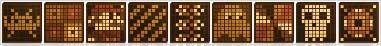 Wooden Pixel Art Gallery