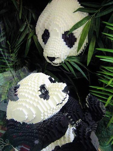 The Lego Pandas
