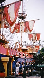 Pirate Ship at Yesterland