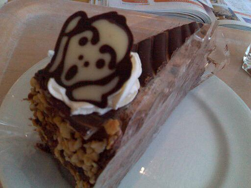 The Scream cake