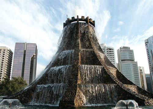 Abu Dhabi Fountain