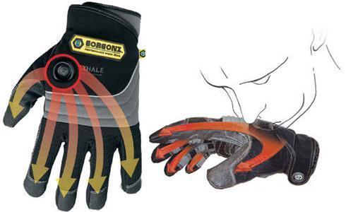 Warm Air Gloves