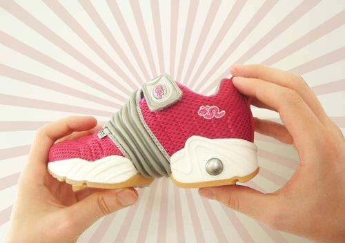 Inchworm shoes grow with your child