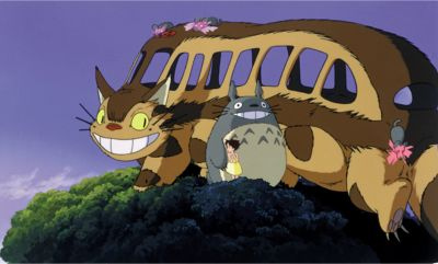 cat bus cartoon
