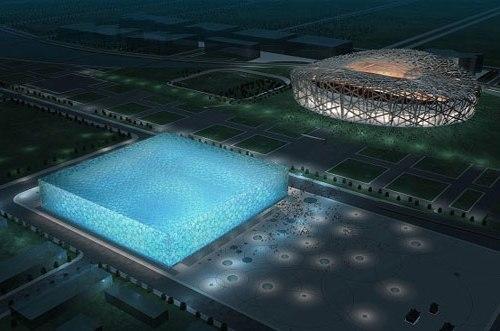 China Olympics Watercube