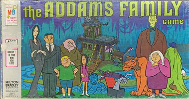 Addams Family Board Games