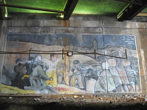 The Third of May 1808 Graffiti