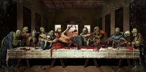 The Zombie Last Supper