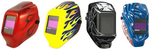 Customized Welding Helmets