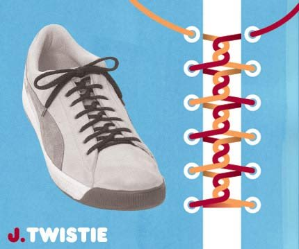 Twistie Shoelace Tie