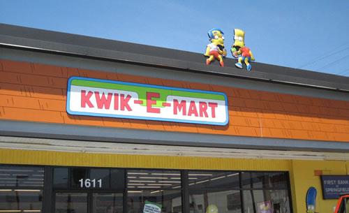 Real Life Kwik-E-Mart