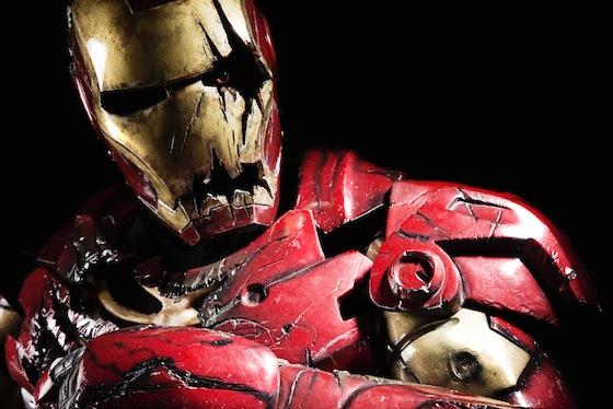 Zombie Iron Man Neatorama