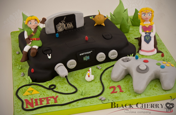 Zelda Cake Neatorama