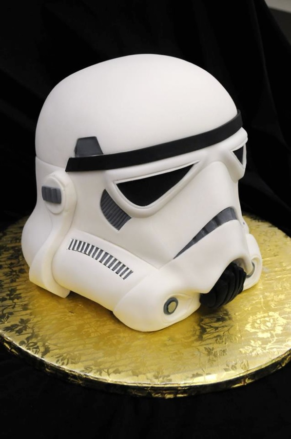 How To Make A Stormtrooper Cake