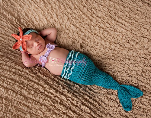 Crocheted Mermaid Costume Neatorama