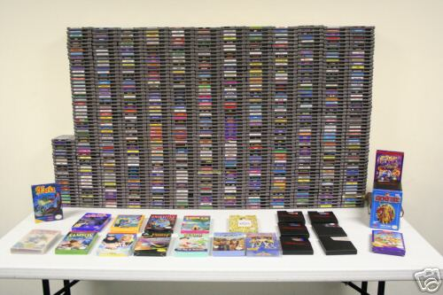 the complete nes gameset