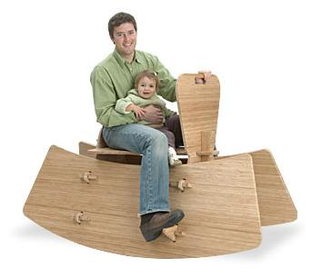 Adult Rocking Horse. For parents who miss the carefree days of their youth, ...