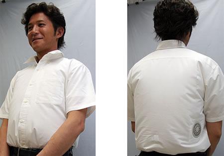 camicia con aria condizionata