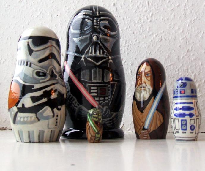 Star Wars Matryoshka Dolls Neatorama