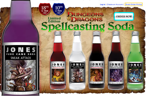 Most Expensive Beer In The World >> Dungeons and Dragons-Themed Sodas - Neatorama