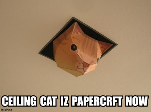 Papercraft Internet Memes Neatorama